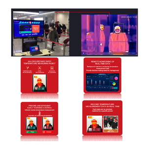 Image 2 - Grand Pro GAS 60 AI Multi people body temp. monitoring system Joint Develop with Baidu