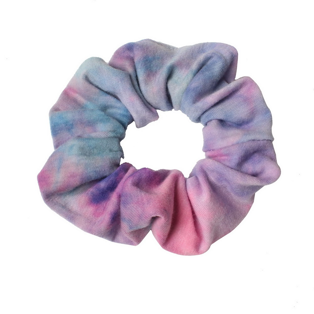 3pcs Tie Dyed Scrunchie Pack Hair Accessories For Women Girls Headbands Elastic Rubber  Hair Tie Hair Rope Ring Ponytail Hold