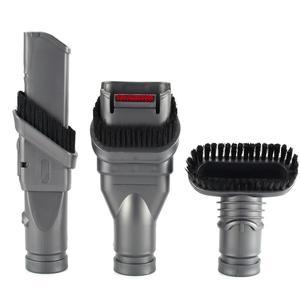 Image 5 - Dyson aspiradora V7 V8 V10, 7 Uds., piezas de limpiador al vacío absoluto, soporte para cepillo, Base de herramienta con boquilla, piezas de estación de resorte