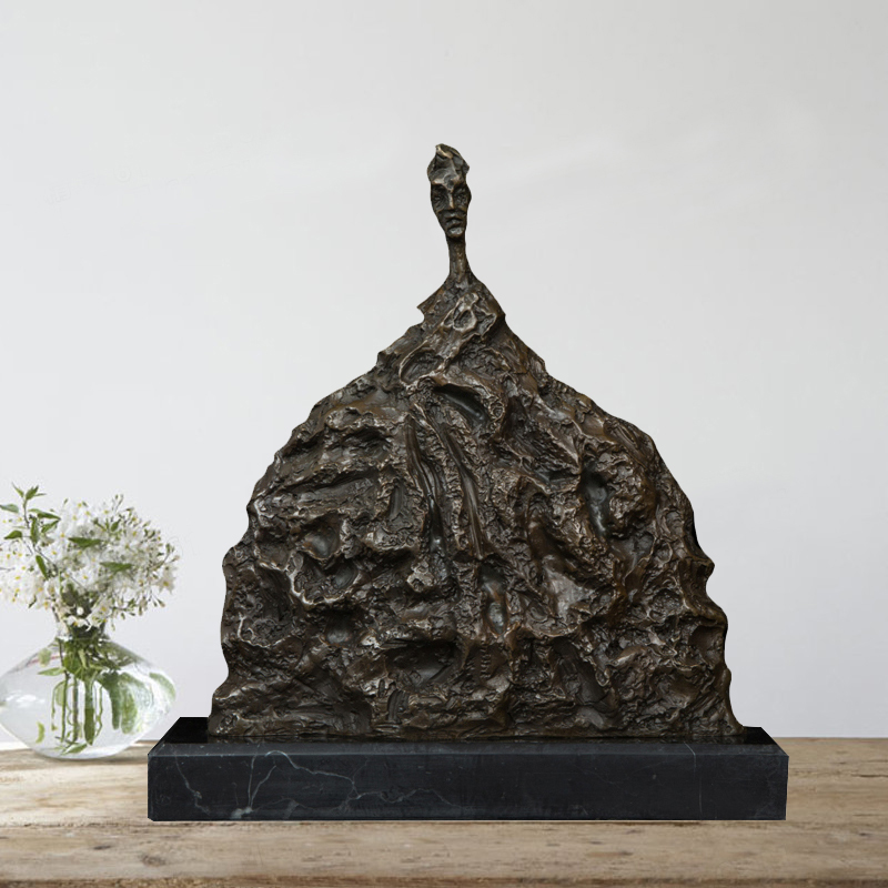 Home and livingroom and office decoration  accessories artist Giacometti Bronze statue sculpture decortive sculpture statue