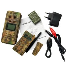 Outdoor decoy hunting bird caller mp3 with remote control built