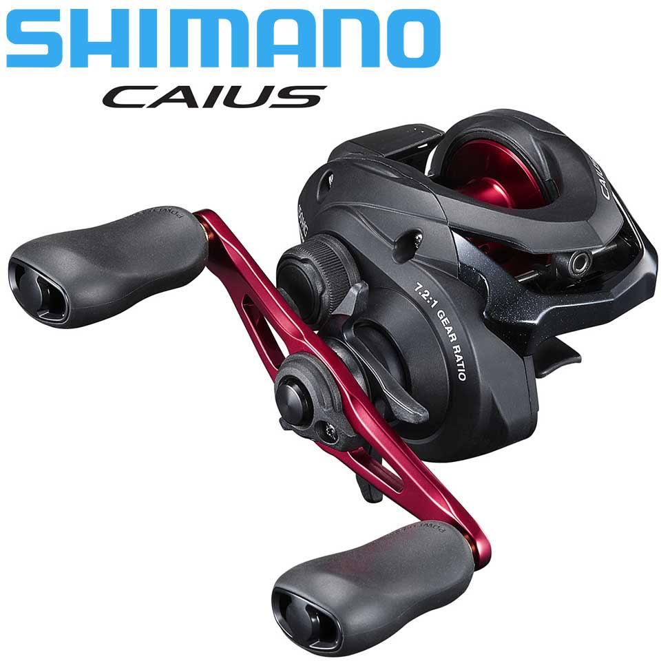NEW SHIMANO CAIUS Baitcasting Fishing Reel 3+1BB 7.2:1Ratio HAGANE BODY Centrifugal Brake System Made In Malaysia