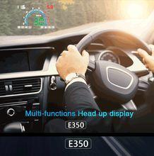 Автомобильный дисплей geyiren e350 obd2 ii hud 58 дюйма легкое
