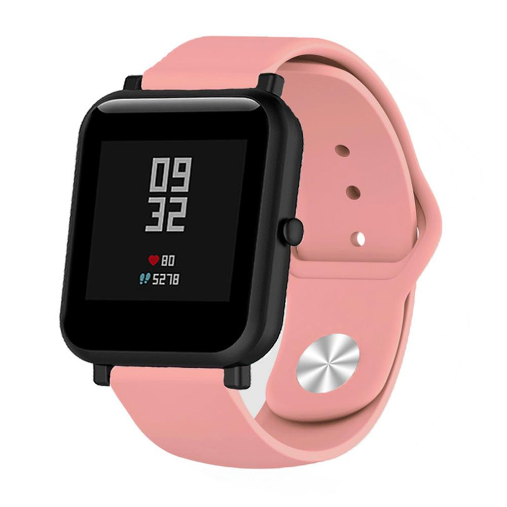 Soft Silicone Band For Huawei/Withings/Samsung Gear S2/s3/Amazfit Bip Smart Watch Bracelet 18mm 20mm 22mm Replacement Wrist Band