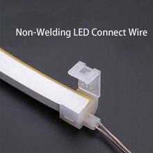 12V Nicht-Schweißen LED Verbinden Draht Neon LED Streifen Mid Verbindung Anschlüsse Flexible LED Streifen Installation Zubehör