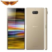 Original Sony Xperia 10 Octa-core 6,0 Zoll 4GB RAM 64GB ROM LTE 13MP Dual Kamera Android handy Entsperrt Handy