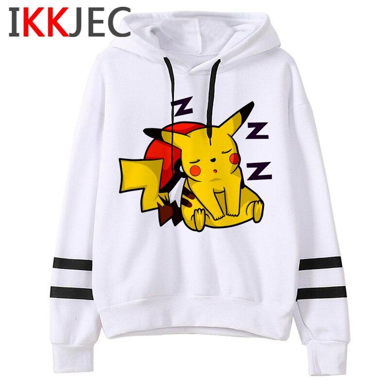Pokemon Go Funny Cartoon Warm Hoodies Men/women Cute Pikachu Japanese Anime Sweatshirts Fashion 90s Steetwear Hoody Male/female 29