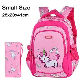 2020 New Children School Bags for Teenagers Boys Girls Big Capacity School Backpack Waterproof Kids Book Bag Travel Backpacks - Color J
