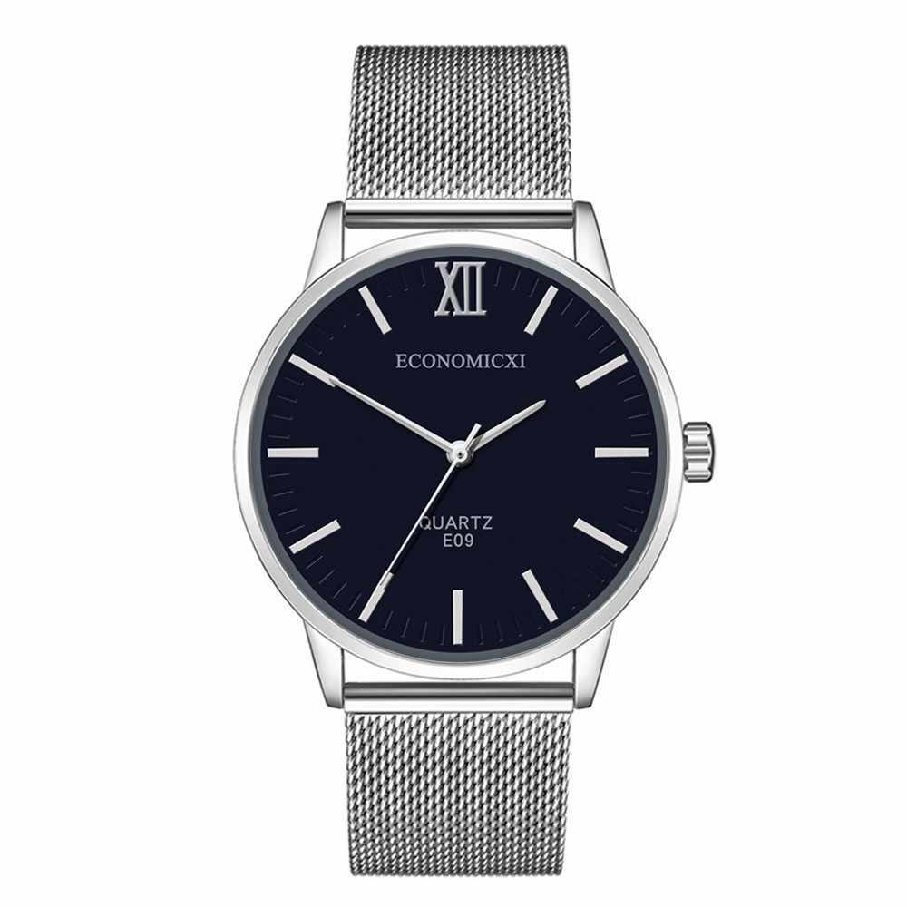 2020 새로운 블랙 쿼츠 시계 LIGE Mens 시계 남자를위한 최고 브랜드 럭셔리 시계 간단한 모든 철강 비즈니스 손목 시계 Reloj & 50