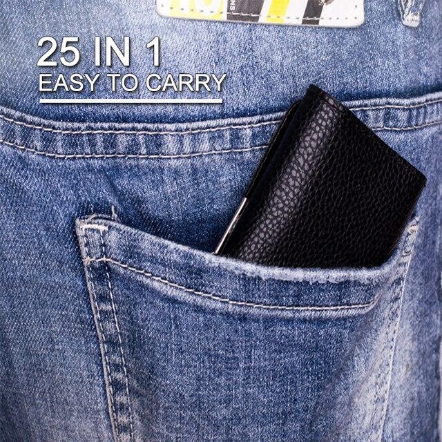 Juego de destornillador kindov de precisión, puntas de destornillador Torx, juego de brocas de destornillador magnético, 25 en 1, herramientas de reparación para teléfono móvil