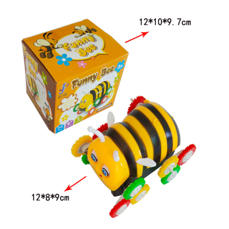 Electric Tilting Bees Car Small Bees Tilting Car Stunt Roll Crawler Caterpillar CHILDREN'S Toy Car
