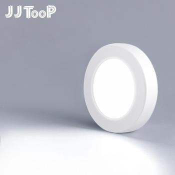 Led typu downlight Mini światło punktowe ściany montowane na powierzchni lampa 3W 5W 7W panel oświetleniowy wystrój domu oświetlenie wewnętrzne do szaf 220V 240V tanie i dobre opinie JJTOOP Dotykowy włącznik wyłącznik 220 v MSD-A39 Kuchnia 1 year WHITE Aluminium