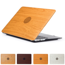 Laptop Cases For Apple MacBook Air 13.3 2018 (A1466/A1369) Notebook Protective Case Scratch Resistance Wood Grain Notebook Cover