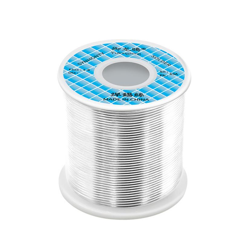 500/800g Tin Lead Solder Wire Rosin Core Soldering Wire Roll No-clean 2.2% Flux Reel Tube 0.5/0.6/0.8/1.0/1.2/1.5/2.0MM