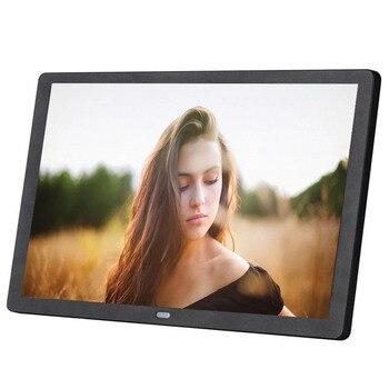 Новый 15 дюймов Экран светодиодный Подсветка HD 1280*800 цифровая фоторамка электронный альбом для фотографий Музыка Фильмы Функция, хороший подарок для ребенка Цифровые фоторамки      АлиЭкспресс