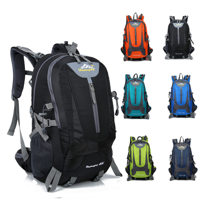 Travel Bag Creative New Style Outdoor Mountain Climbing Backpack Men And Women Hiking Travel Bag Large Capacity Burden Relieving