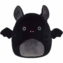 8 polegada bonito padrão de morcego brinquedo de pelúcia meninas meninos macio dia das bruxas presente natal casa decro atacado juguetes peluche