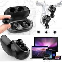 C5 IPX8 auriculares impermeables para natación TWS Bluetooth inalámbrico verdadero Auricular deportivo Auricular con caja de cargador