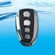Universal 4 Key ABCD Key Remote Control 433.92MHZ Remote Cloning Auto Car Garage Door Duplicator Rolling Code