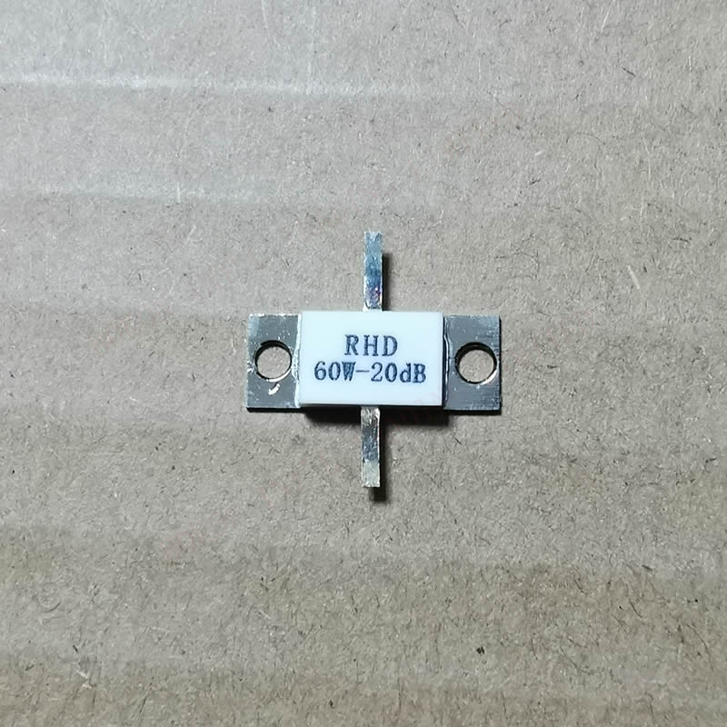 ATTENUATORS FLANGED 60 Watts 20 DB 60W-20dB RHD 60W-20dB 50 Ohms 60watt 50ohms DC-3.0 Ghz RHD 60W-20dB 50 Ohms ±5%