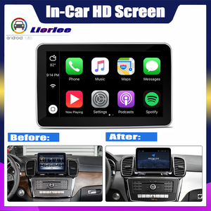 Image 2 - Car Multimedia Player For Mercedes Benz GLE Class 350 450 500 580 63 w166 2011~2019 Radio Android GPS navigation 4G System