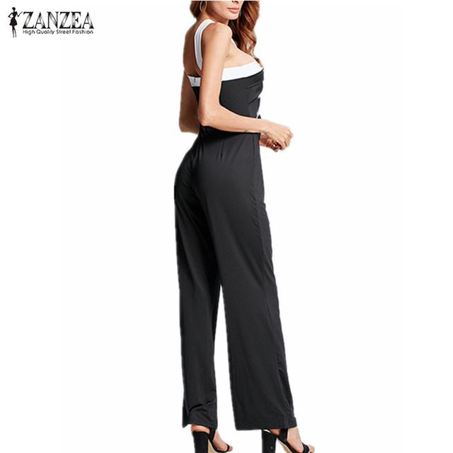 ZANZEA 2020 New Fashion Women Backeless Jumpsuits