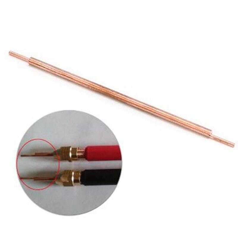 3x85x1.5 Lithium Battery Spot Welder Electrode Tip Welder Spot Welding Pin Welding Accessories Alumina Copper Welding Feet
