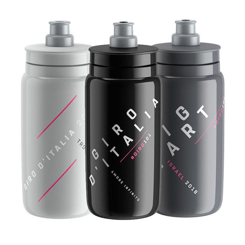 GIRO D'ITALIA 2018 ELITE FLY BOTTLE 500ML Portable Bike Bicycle Bottle Outdoor Cycling Riding Sport Drink Bottle Cup Kettle