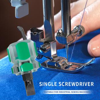 Przenośny śrubokręt z głowicą rzodkiewki śrubokręt z płaskim ostrzem wyczyść narzędzia do napraw ręcznych do ozdoby do szycia domowego matki tanie i dobre opinie alloet CN (pochodzenie) STAINLESS STEEL Slotted Screwdriver Szczelinowe Screw Driver Radish Head Flat-blade screwdriver