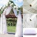 Прозрачная Тюлевая ткань для свадебного декора, 5/10 м, тюль в рулоне, ткань для свадьбы, дня рождения, вечеринки, украшения, своими руками, для ...