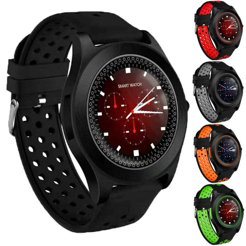 TF8 montre-bracelet intelligente Bluetooth GSM téléphone pour Android Samsung LG Sony iPhone