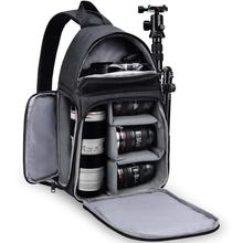 DSLR Camera Bag Shoulder Sling Cross Case for Nikon Z50 Z7 Z6 Z5 D780 D750 D7500 D7200 D7100 D5600 D5500 D5300 D3500 D3400 D3300