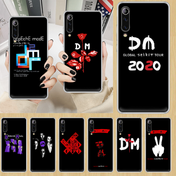 Depeches mode band DM Phone Case cover For XIAOMI redmi note K 4 5 6 7 8 9 10 20 30 3 A X Pro ultra transparent hoesjes tpu back image