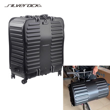 SILVEROCK Luggage Traval Case Transport Carry Roll Packing Bag for BROMPTON PIKES 3SIXTY