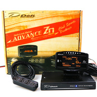 Full Kit Sports Package 10 in 1 BF CR C2 DeFI Advance ZD Link Meter Digital Auto Gauge With Electronic Sensors