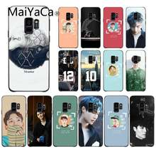 Maiyaca Kpop Exo Lucky Zwarte Soft Shell Telefoon Cover Voor Samsung A8Plus 2018 9S 920 10S 20S 10 40 20 30 50 Cover(China)