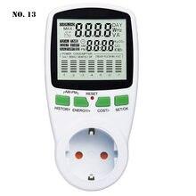 Digitale Wattmeter Power Energy Meter Smart Power Meter Sockel Watt Meter AC EU/US/UK/AU Stecker power Analyzer Medidor De Energia