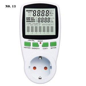 Digital Wattmeter Power Energy Meter Smart Power Meter Socket Watt Meter AC EU/US/UK/AU Plug Power Analyzer Medidor De Energia