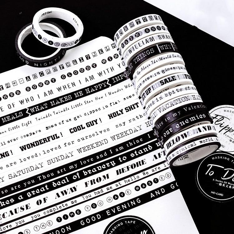 1PC Function Slim Washi Tape Diy Decoration Scrapbooking Planner 7mm*5m Masking Tape Adhesive Tape Label Sticker Stationery Tool