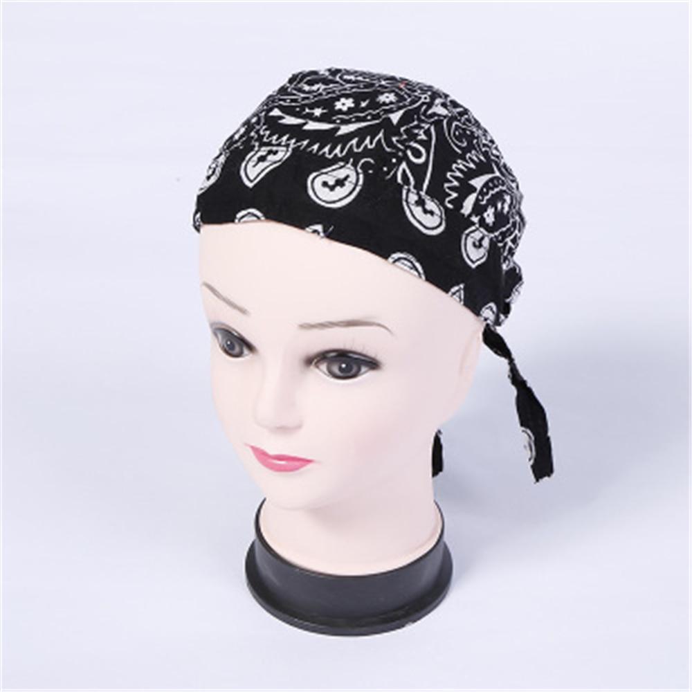 Unisex Cotton Print Outdoor Hip-hop Headband JQ0706