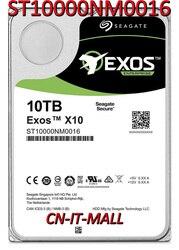 Внутренний жесткий диск Seagate Exos ST10000NM0016 10 ТБ (гелий) 7200 об/мин SATA 6 ГБ/сек. 256 Мб кэш-памяти