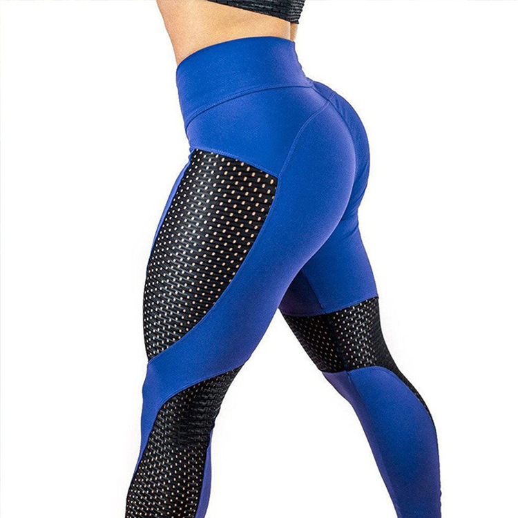 Net Red Fast-drying Net Yarn Lady Pants Exercise Fitness Running Leggings Leggings