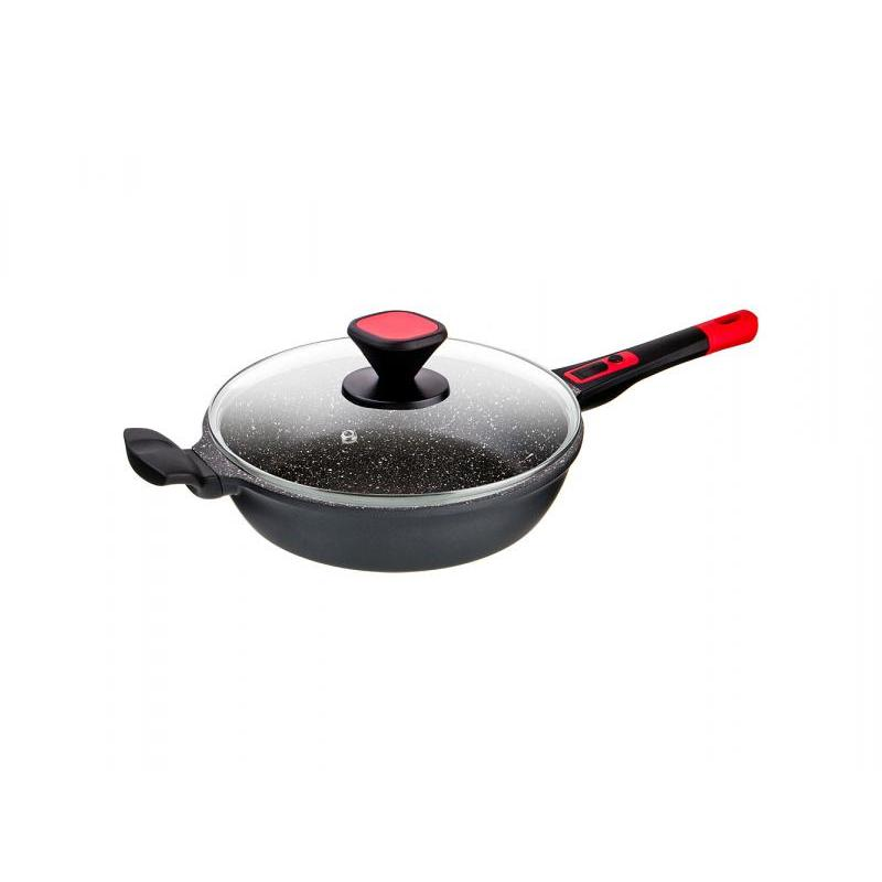 Frying Pan AGNESS, 28 Cm, With Removable Handle, Deep