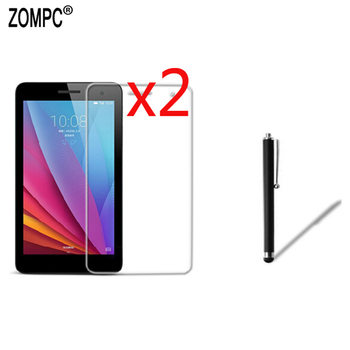 2x Soft Ultra Clear Screen Protector Film +Stylus For Huawei Mediapad T1 T2 M2 T3 7.0 T1-701u/w BGO-DL09 PLE-703L BG2-U01/W09 7 image