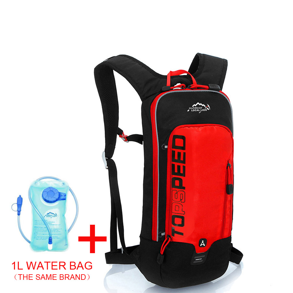 Red with 1L bag