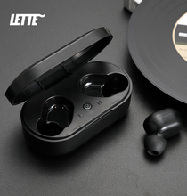 M1 Wireless Bluetooth v5 Earbuds Real Wireless Earphones with Mic HD Call Portable Charging Box Earphone