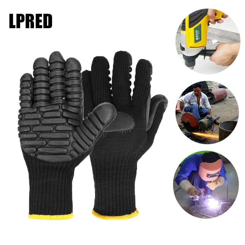 Anti Vibration Work Gloves Power Tool Shockproof Reducing Work Safety Glove For Drilling Mine-coal  Workplace