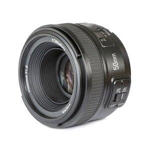 Image 3 - YONGNUO YN 50mm f1.8 AF เลนส์ YN50mm รูรับแสงอัตโนมัติขนาดใหญ่เลนส์สำหรับ Nikon D3000 D3100 D3200 D3300 D5000 DSLR กล้อง