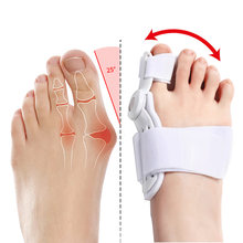 2Pcs Hallux Valgus Corrector Straightener For Toes Corrector Orthotics Bone Leg Toe Separator Foot Care Haluksy Bunion Corrector