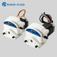 Electric 24v Stepper Motor Peristaltic Pump Low Pressure for Vending Machine Liquid Metering Chemical Corrosive Resistance